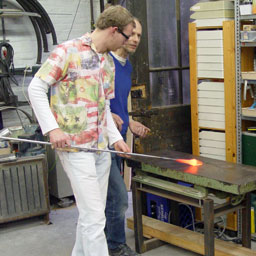 Glass blowing basic skills